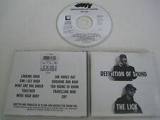 DEFINITION OF SOUND/THE LICK(CIRCA/CIRCD 24)CD ALBUM