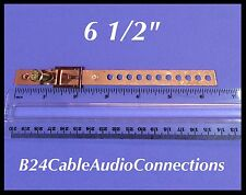 """6"""" copper ground strap for coaxial TV F cable coax RG6 satellite digital"""