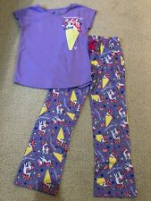 NWT Justice Kids Girls Size 18//20 Soft Sherpa Lined Hood Union Suit Pajamas