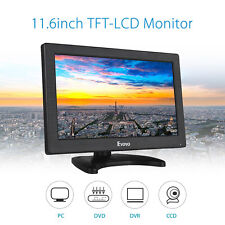 "Eyoyo 11.6"" LCD Full HD  Video Audio HDMI CCTV Monitor Screen AV HDMI BNC Input"