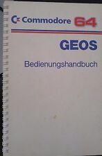 Commodore C64 C 64 GEOS Bedienungshandbuch
