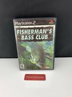 Fisherman's Bass Club - Playstation 2 PS2 Fishing Game - Complete & Tested