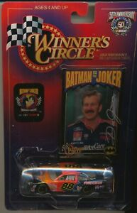 1998 HASBRO WINNER'S CIRCLE BATMAN VS THE JOKER DALE JARRETT 1/64 DIE CAST CAR