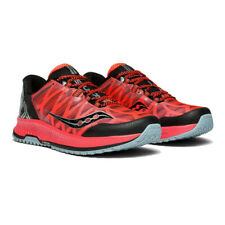 Saucony Mens Koa TR Trail Running Shoes Trainers Sneakers Black Red Sports