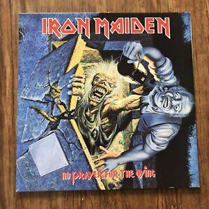 Iron Maiden No Prayer For The Dying Album Vinyl LP Lyric Inner