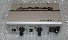 ( no box & no power supply ) M-Audio Audio Buddy Dual Mic Preamp / Direct Box
