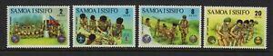 SAMOA  1973  Boy Scout Movement.  MNH