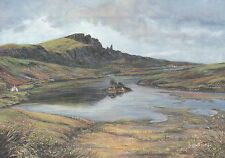 The Storr Isle of Skye Hebrides Scotland Old Man of, United Kingdom Art Postcard