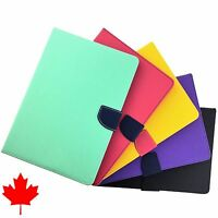 iPad Air 2 High Quality Luxury Leather Flip Wallet Case Cover Credit Card Slots