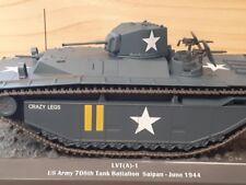 Chars de Combat 1/43 Altaya N°14 LVT(A)-1+ Fascicule 14
