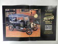 Franklin Mint 1913 Ford Model T Limited Brochure Pamphlet Mailer