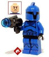 Lego Star Wars - Senate Commando Trooper minifigure from set 75088