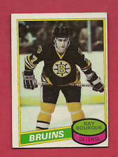 1980-81 TOPPS # 140 BRUINS RAY BOURQUE EX-MT ROOKIE  CARD
