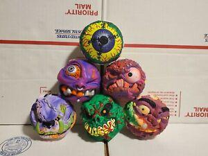 1999 Freakballs Madballs  Series 1 lot of 6