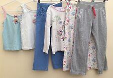 Girls Bundle Clothes Of Clothing Age 4-5 Disney M&S TU <D477