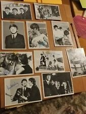 1964 Beatles B&W Cards 2nd Series 5 3nd Series 5 Cards + Other Clippings Of Beat