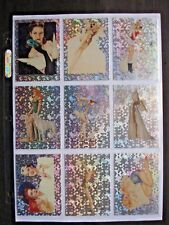 1992 21st CENTURY ARCHIVES VARGAS PIN-UP GIRLS 50 CARD PRISM PARALLEL SET