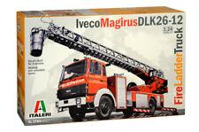 Italeri 3784 - Fire Ladder Truck Iveco-Magirus - 1:24