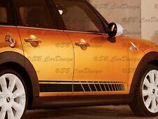 Side-Stripes Aufkleber Seitenstreifen f. BMW MINI COOPER S F55 One Works Jack GP