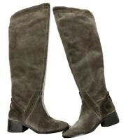 Vince Camuto Karinda Gray Suede Over The Knee Women's Boots, Size 6 M