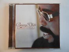 BARRY WHITE : LOVE SONGS (best of sweet barry) [ CD ALBUM PORT GRATUIT ]