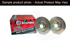 Brembo Sport Slotted front 355mm Rotors Chevrolet Camaro SS only 2010-2015