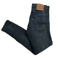 LEVIS 512 Mens Slim Taper Skinny W30 L30 Dark Blue Stretch Jeans (D323)