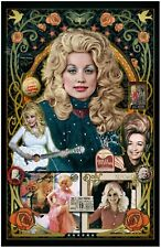 "Dolly Parton  Tribute poster - 11x17"" - Vivid Colors!"