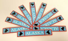 "SRM Destination Title Sticker Lot 10 Sheets 6"" x 1"" Alaska"