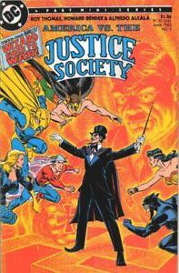 DC America vs The Justice Society 3  1985