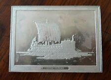 Franklin Mint Great Sailing Ships of History Sterling Ingot Greek Trirme