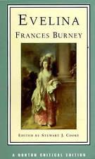 Evelina (Norton Critical Editions), Burney, Frances & Cooke, Stewart J., Used; G