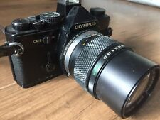 Olympus OM2n + 3 Lenses Zuiko OM System 135 50 28 SLR Camera Japan Photo Lens