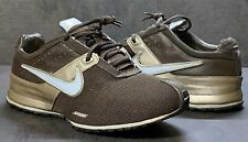 NIKE ZOOM Shoes Womens 7 Athletic Running Train Sneakers Brown Gold 318184-201