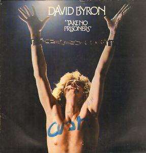 DAVID BYRON(URIAH HEEP)-LP- TAKE NO PRISONERS- BRONZE-GERMANY-1975- OIS