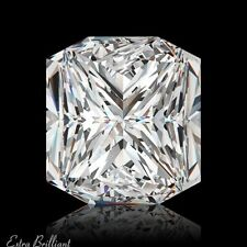 1.58 Carat H/VS2/Ideal-Cut Radiant AGI Certify Genuine Diamond 7.13x6.30x4.32mm
