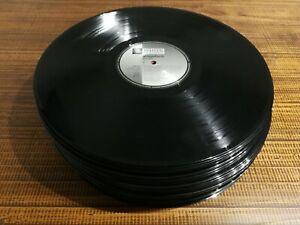 """SOMMERSPECIAL!!! 50 große Schallplatten Vinyl 12"""" (30 cm) zum Basteln Deko Party"""