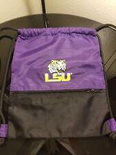 LSU Drawstring Backpack Back sack Bag