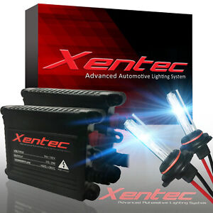 Xentec Xenon Light HID Kit H7 10000K Headlight Low Beam VS LED 30000 Lumens 35W