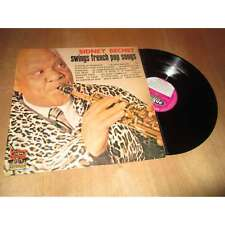 SIDNEY BECHET - swings french pop songs - JAZZ VOGUE Lp 1966