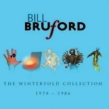 Bill Bruford The Winterfold Collection CD NEW SEALED Jazz Fusion