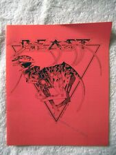 60916 Instruction Booklet - Shadow Of The Beast - Commodore Amiga (1989)