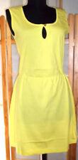 Chillytime weiches Sommer Kleid Jersey leuchtend gelb Gr.36
