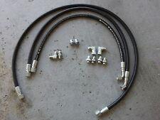 "01-02 chevy silverado duramax & 8.1 liter allison transmission cooler hoses 1/2"""
