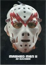 09/10 BETWEEN THE PIPES MASKED MEN II MASK SILVER #MM-42 ED GIACOMIN *44377