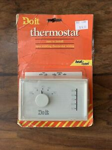 Do it Heating & Cooling Thermostat 474053 White Rodgers/ Emerson / Honeywell NOS