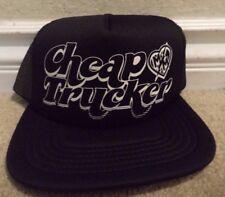 METAL MULISHA CHEAP TRUCKER CAP HAT BLACK SNAPBACK  *NEW*