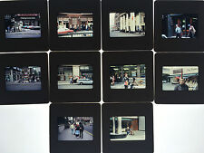 Ten Vintage 1980's London Punk Rock 35mm Slides Images