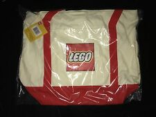 LEGO 5005326 Canvas Promotional Tote Bag BRAND NEW & SEALED