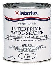 New Interprime Wood Sealer  interlux 1026/qt Quart